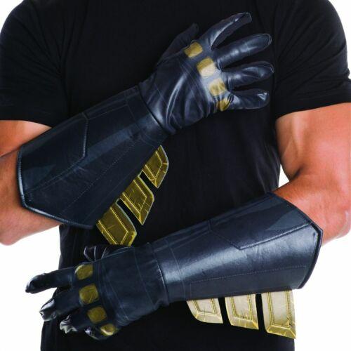 BATMAN Gloves Mens Adult Batman vs Superman Gauntlets Costume Accessory