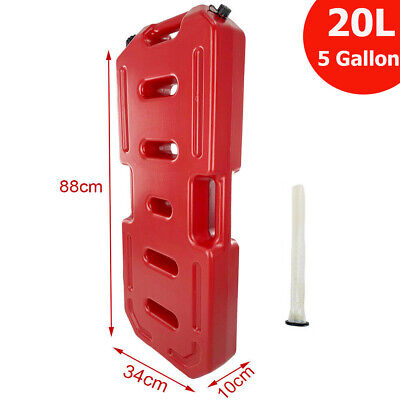 20l Plastic Jerry Can Gas Diesel Petrol Fuel Tank Oil Container Fuel-jugs Valid