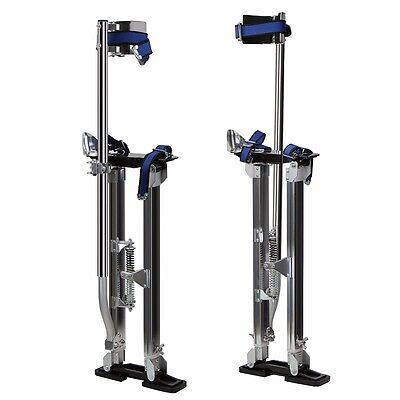 Drywall Painters Walking Stilts Taping Finishing Tools - Adjustable 24 - 40