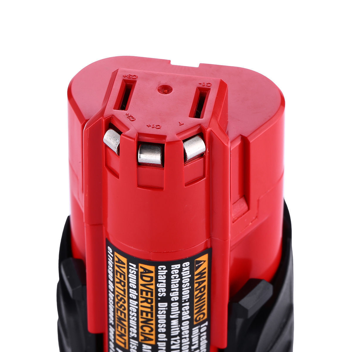 2xFor Milwaukee 48-11-2420 M12 LITHIUM Compact Battery 48-11-2402 48-11-2401 NEW 5