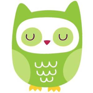 SALE:  Green Owl Wall Stickers - Totally Movable Melbourne CBD Melbourne City Preview