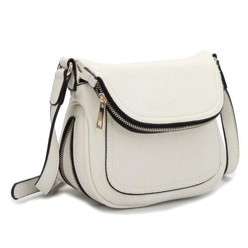 Dasein Womens Handbags Leather Crossbody Bags Messenger Bag