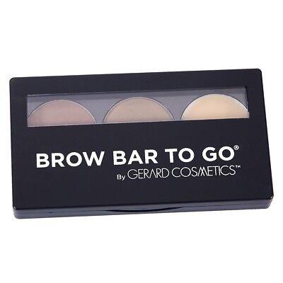 Gerard Cosmetics Brow Bar To Go Kit (Medium to Ebony) (Brow Bar To Go)