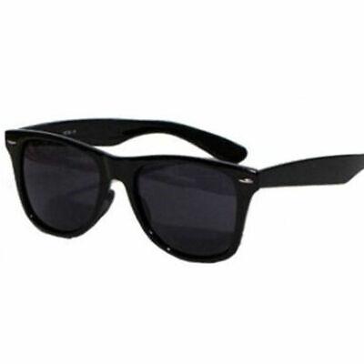 Top 3 für 2 - Sonnenbrille Schwarz Retro Black Gläser extra-dark Blues Brothers