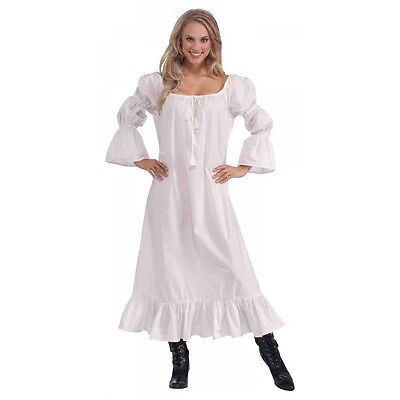 Medieval Chemise Adult Renaissance Costume Fancy Dress