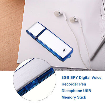 Usb 2 0 Voice Recorder Spy Recorder 8Gb Small Audio 150Hrs Recording