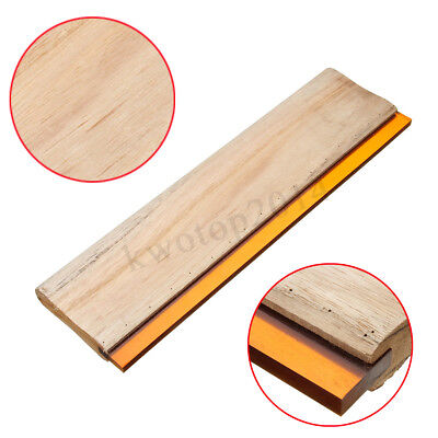 15 Silk Screen Printing Squeegee Square Blade Wood Handle Ink Scraper 38cm 60d