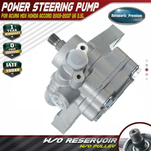 Power Steering Pump For Honda Accord Acura MDX 2003-2007 3