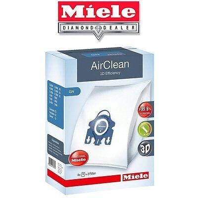 Miele Gn Vacuum Bags   3D Airclean   4 Hepa Bags   2 Filters Per Box