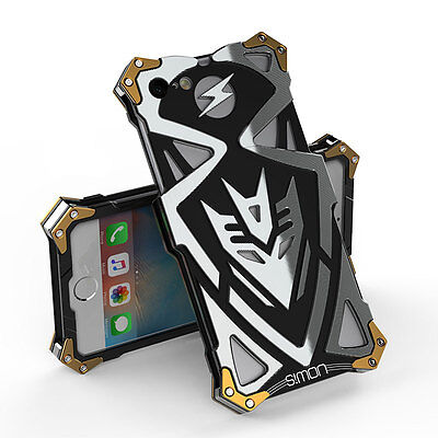 Metal Shockproof Heavy Armor Full Protective Case Cover For iPhone 6 6s 7 -