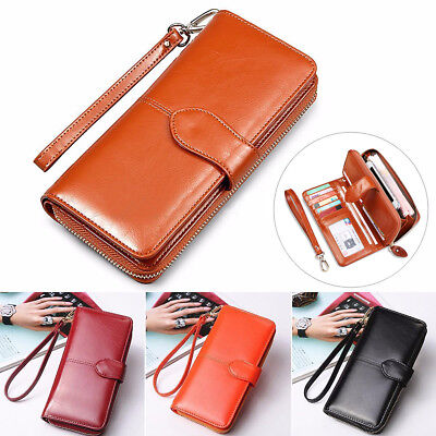 Purse Wallet (Fashion Lady Women Leather Clutch Wallet Long Card Holder Case Purse Handbag)