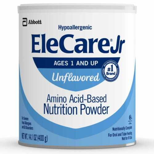 EleCare Jr Unflavored Junior- case of 6  Free FAST SHIPPING!