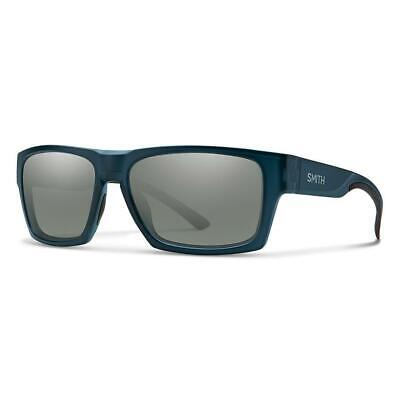 Smith Outlier 2 Sunglasses Matte Crystal Deep Forest (Smith Mens Sunglasses)