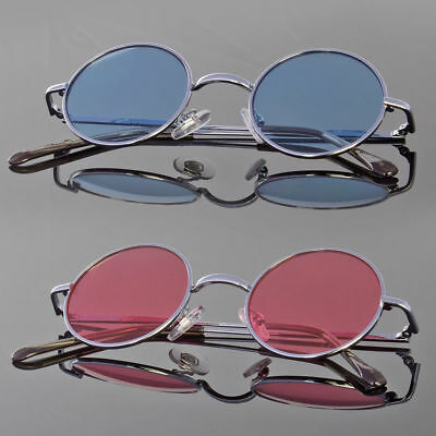 John Lennon Style Vintage Retro Classic Circle Round Sunglasses For Small (Small Face Sunglasses)