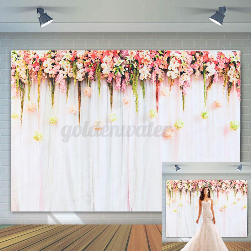 150X210cm+Flower+Wedding+Background+Rose+Wall+Backdrop+Birthday+Party+Theme+Pro