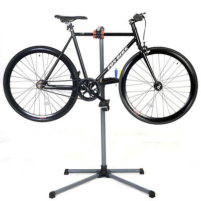 "Adjustable Pro Bike 39"" To 60"" Repair Stand Telescopic Arm Cycling Bicycle Rack"