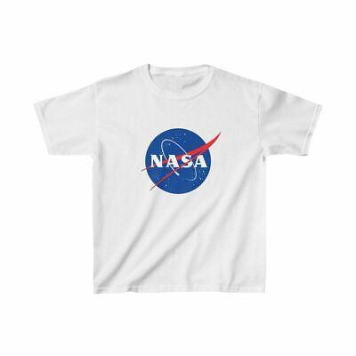 NASA Logo Shirt - Space Tees - NASA Space Distressed T-Shirts - Kids Nasa T-Shir Distressed Logo Kids T-shirt