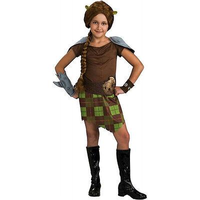 Shrek 4: Princess Fiona Warrior Child Costume Size Small 4-6 - Princess Fiona Costume Kids