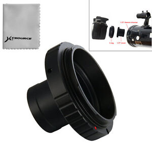 T T2 Ring for Canon EOS Camera Lens Adapter + 1.25