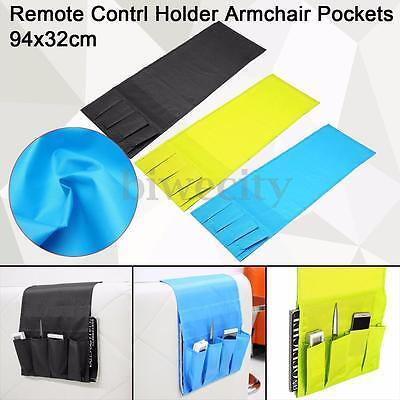 4 Pocket Remote Control Holder Organizer Armchair Couch Multifunctional Storage