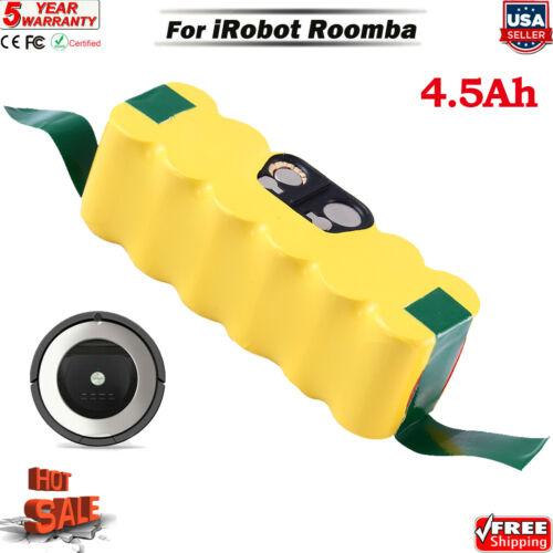 4500mAh 14.4V For iRobot Roomba Battery R3 500 595 600 650 655 690 700 800 880