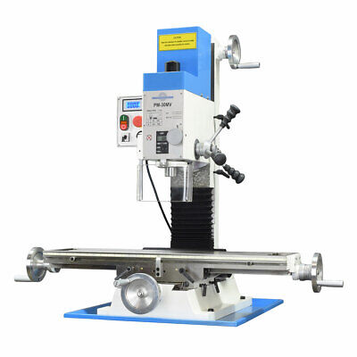 Pm-30mv Vertical Bench Type Milling Machine Variable Speed Free Shipping