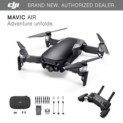 DJI Mavic Air - Onyx Black Drone - 4K Camera, 32MP Sphere Panoramas!