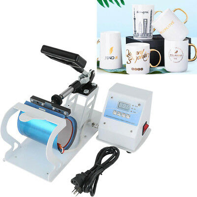 Digital Display Heat Press Transfer Sublimation Machine For Cup Coffee Mug New