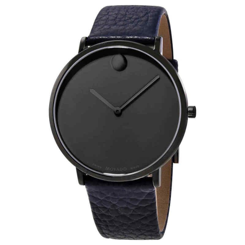 Movado Ultra Slim Quartz Grey Dial Men Watch 0607332