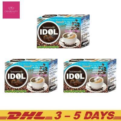 3-10 Boxes x Premium I-DOL Slim Coffee Weight Management 10 Sachets