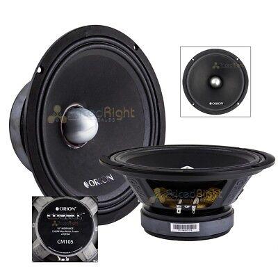 "Single 10"" Midrange Speaker Orion Cobalt Mid 1500 Watts Max Power 4 Ohm 350W RMS, usado comprar usado  Enviando para Brazil"