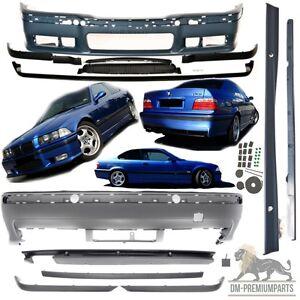 BMW E36 Stoßstange M3 Look Bodykit M-Paket Einbaufertig Komplettpaket aus ABS