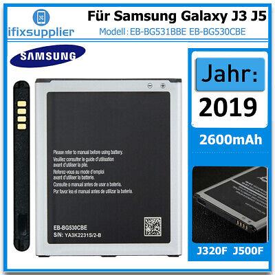 Für Original Samsung Galaxy J3 J320F 2016 J5 J500F Akku Batterie EB-BG531BBE
