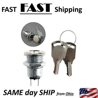 Mini Small Electronic Key Switch On Off Lock Switch With Keys