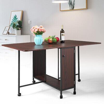 Multi-use Computer Desk Storage Folding Table Desk Movable Large Capacity Home