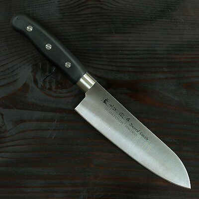 Kitchen Chef Knives Sword Smith MASAMUNE Santoku multi purpose knife 170mm 2-512
