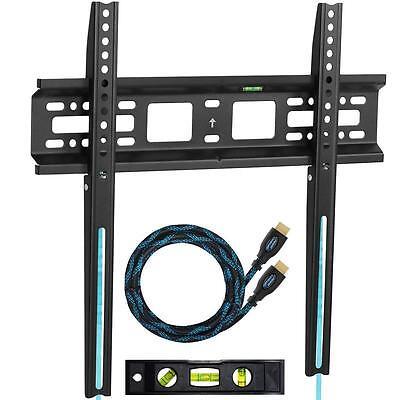 TV Wall Mount Flat Bracket LED LCD Plasma 22 26 28 29 32 37 39 40 42 46 48 50 55
