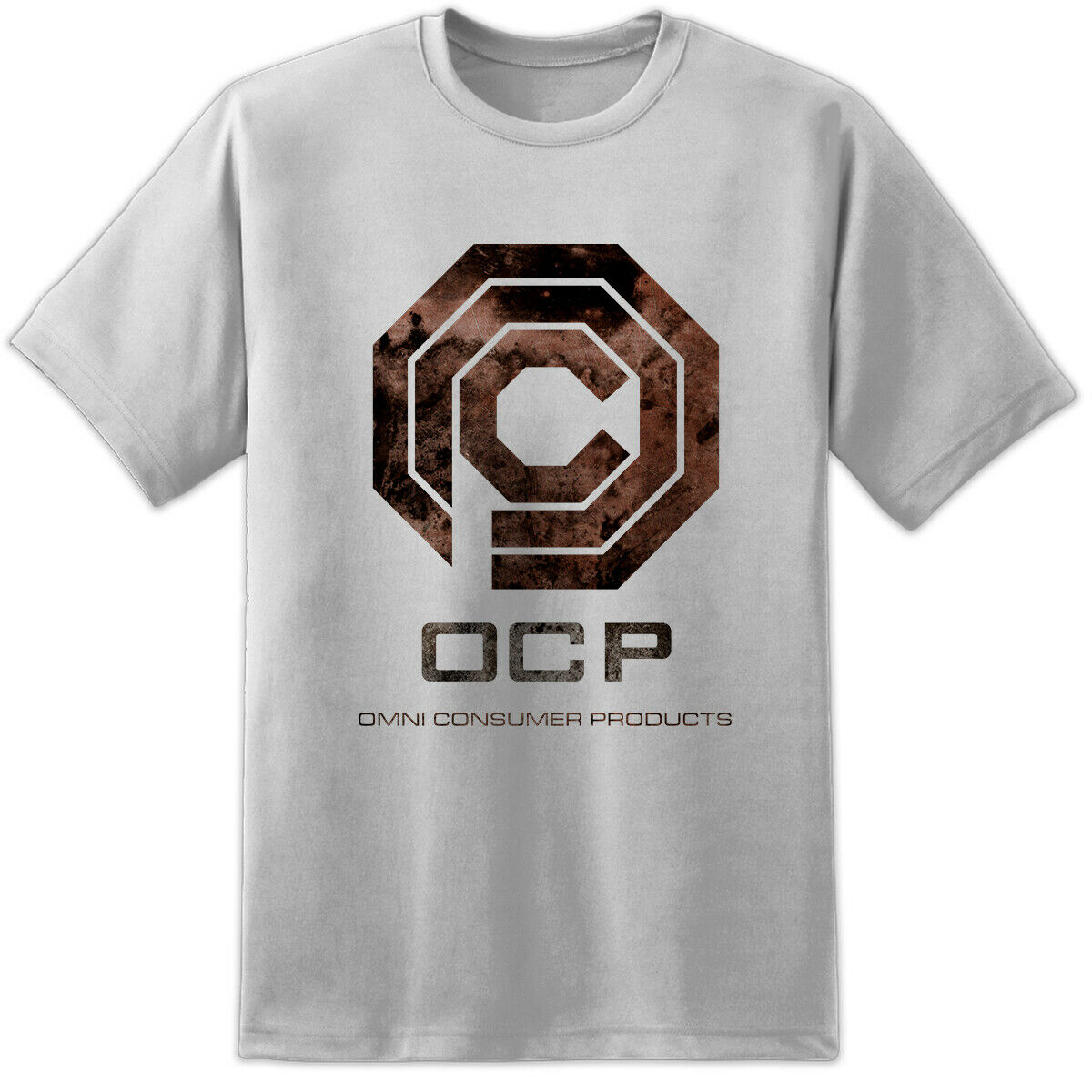 Robocop OCP Classic Movie Logo T Shirt Print ED209 Retro Vintage Original Design