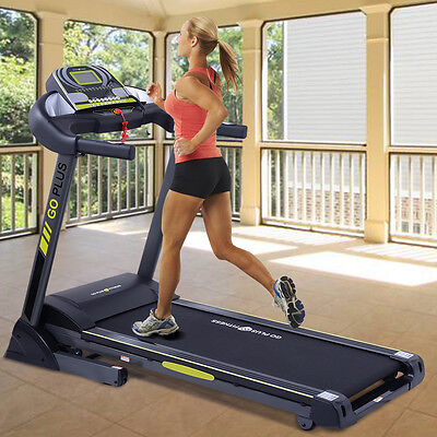 2 5Hp Folding Treadmill Electric Support Motorized Power Running Fitness Machine