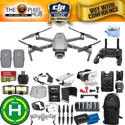 DJI Mavic 2 Pro 2 BATTERY MEGA ACCESSORY BUNDLE W/ Filter Kit, Drone Vest + More