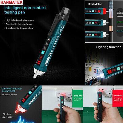 Hanmatek 121000v Lcd Electrical Led Non-contact Ac Voltage Detector Tester Pen