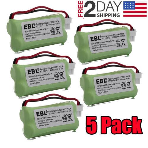 5 Cordless Home Phone Battery Pack For VTech BT166342 BT266342 BT183342 BT162342