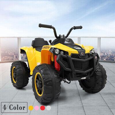 6V Kids ATV 4 Wheels Ride On Quad Car Battery Powered Electric For Kids Gift