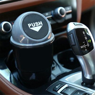 Mini Home Auto Car Waste Trash Rubbish Bin Can Garbage Dust Case Storage Holder