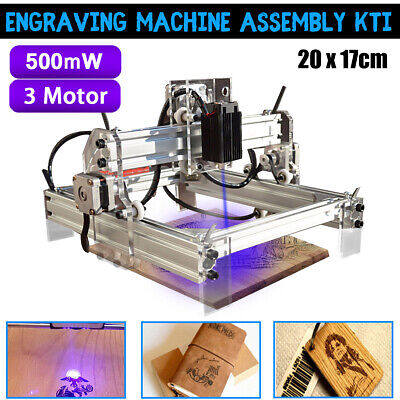 500mw Diy Cnc Laser Engraving Cutting Machine Engraver Printer Desktop Cutter