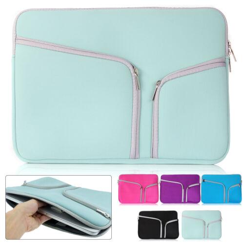 Laptop Sleeve Case Bag For Apple MacBook Lenovo HP Acer Dell 11 13 15 Cover - $7.03