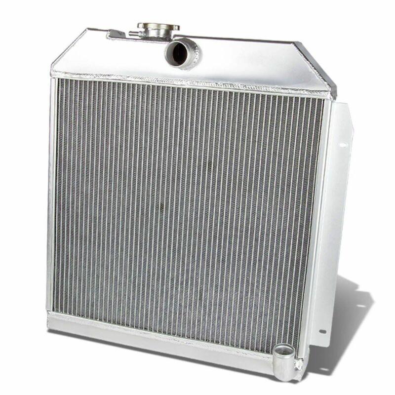 2-ROW ALUMINUM RADIATOR FOR 1949-1952 PLYMOUTH//CHRYSLER//DODGE COUPE//SEDAN 6CYL