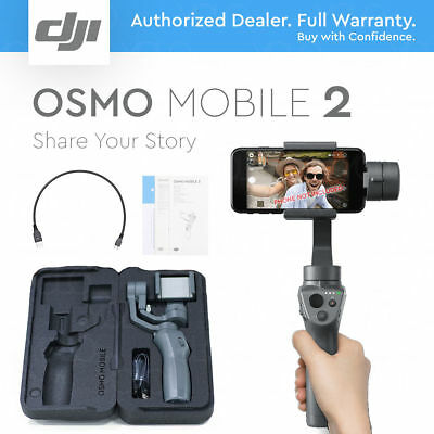 DJI OSMO Mobile 2 Black 3-axis Gimbal System Stabilizer for Smartphones