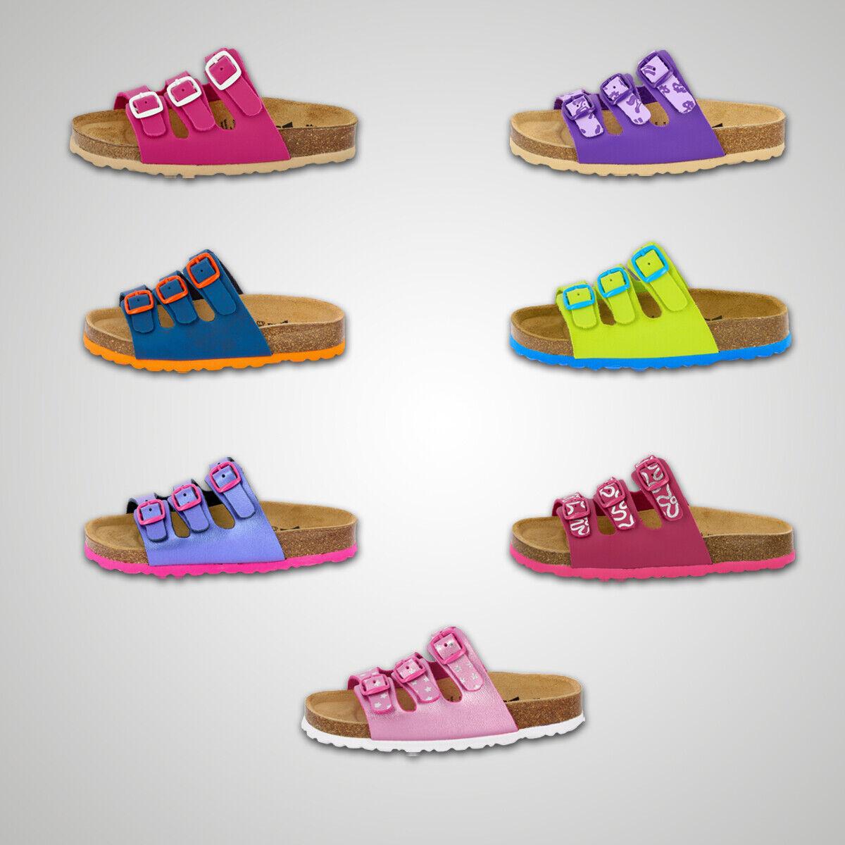 LICO BIOLINE Kinder Pantolette Sandale Hausschuhe Freizeitschuhe Schlappen