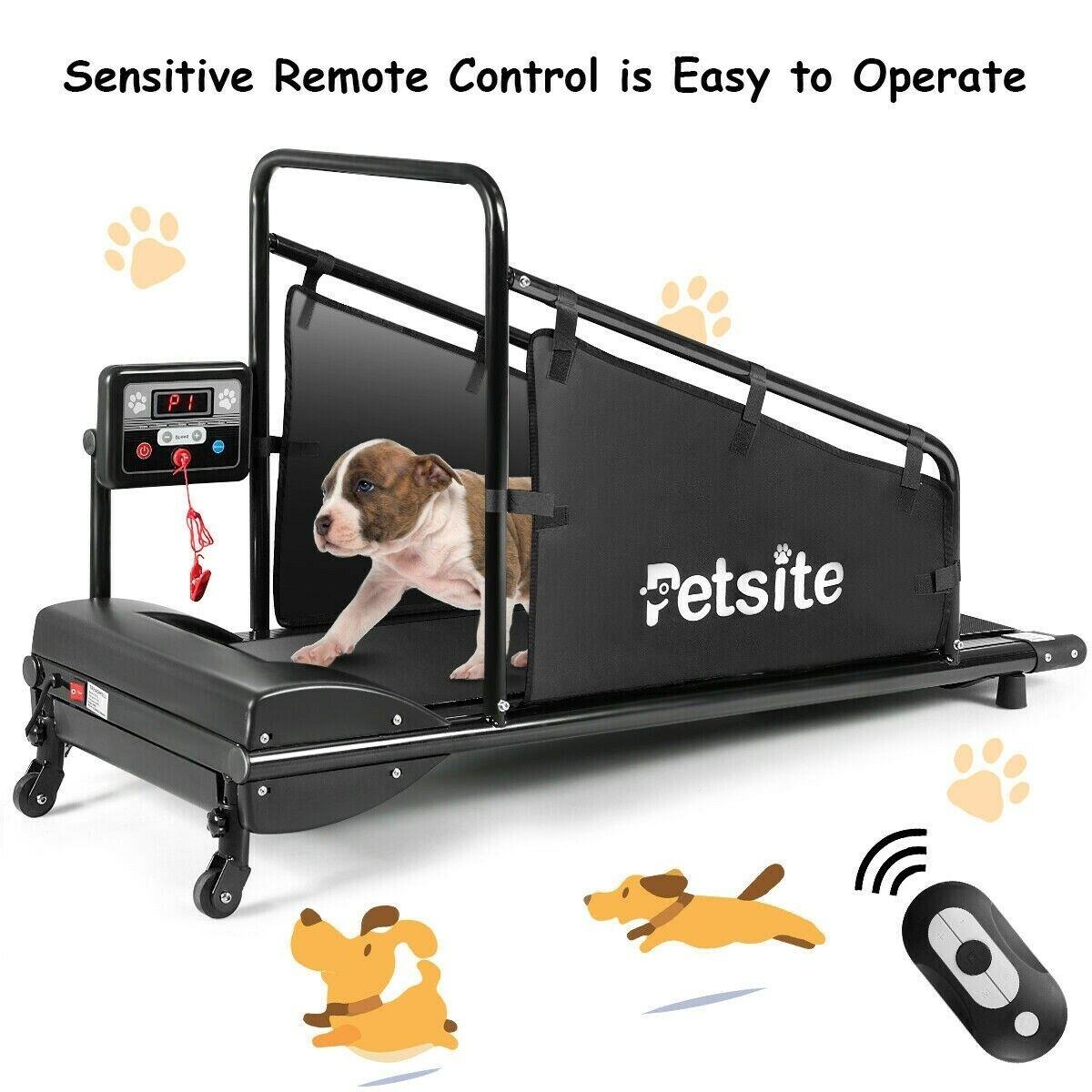 Dog Treadmill Running Machine Pet Fitness 1.4'' ...